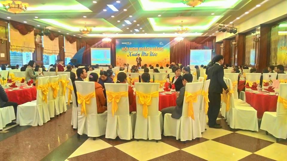 Hội nghị khách hàng xuân mơ ước cùng Bảo Việt Bắc Giang